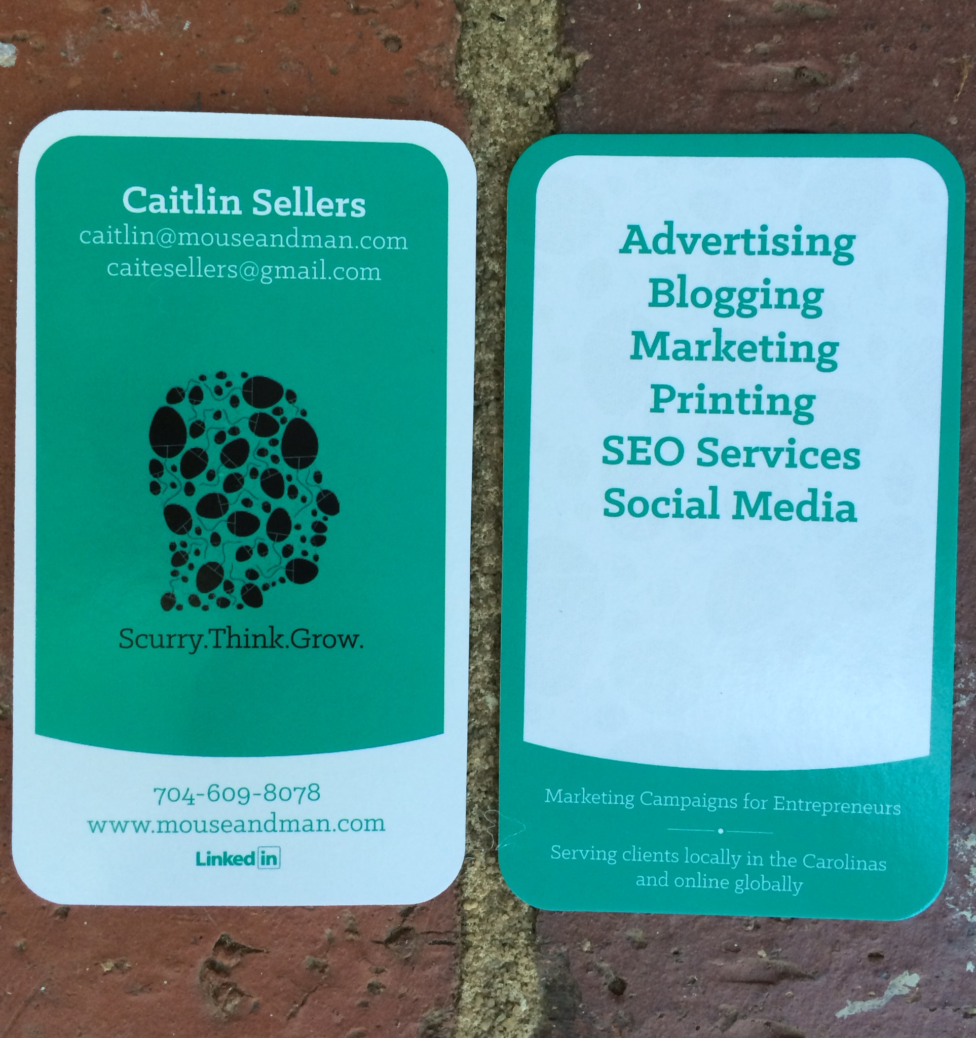 Caitlin Sellers Business Card