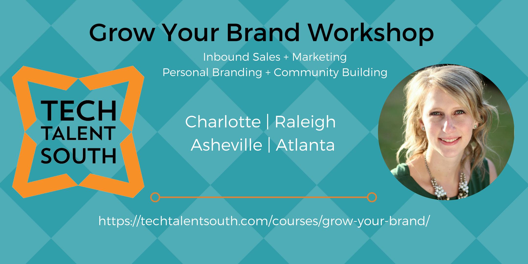 grow your brand online workshop